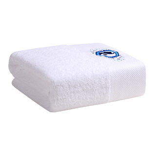 Custom Made Best White Egyptian Cotton Hotel Bath Towel
