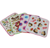 Customized Cotton Small Squre Baby Face Towels Washcloths