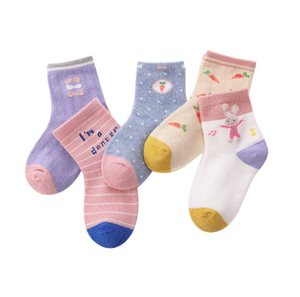 Custom Children Cartoon Cotton Ankle Socks