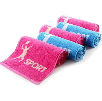 Customized 100 Percent Cotton Terry Gym Fitness Hand Towels