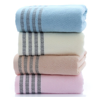 Custom Made 76x152CM Heavy Duty Cotton Hotel Bath Towel