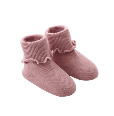 Custom Frilly Cotton Baby Girl Socks