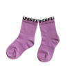 Custom Purple Candy Cotton Baby Girl Ankle Socks