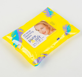 OEM Private Label Lady 's Cleaning Wet Wipes Makeup Remover Wipes