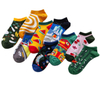 Custom Cotton Men Novelty Happy Ankle Socks