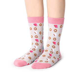 Custom Candy Color Cotton Women Socks