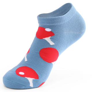 Custom Funky Cotton Women Ankle Socks