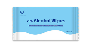 Adults Cleaning Household Non-woven Disinfecting Individual Alcohol Wet Wipes