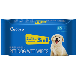 Pet Grooming & Cleasing Wipes For Dog And Cats