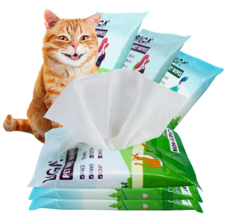 OEM Factory Antibacterial Animal Pet Cleaning Wet Wipe