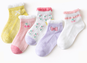 Cute Cotton Kids Girl Socks